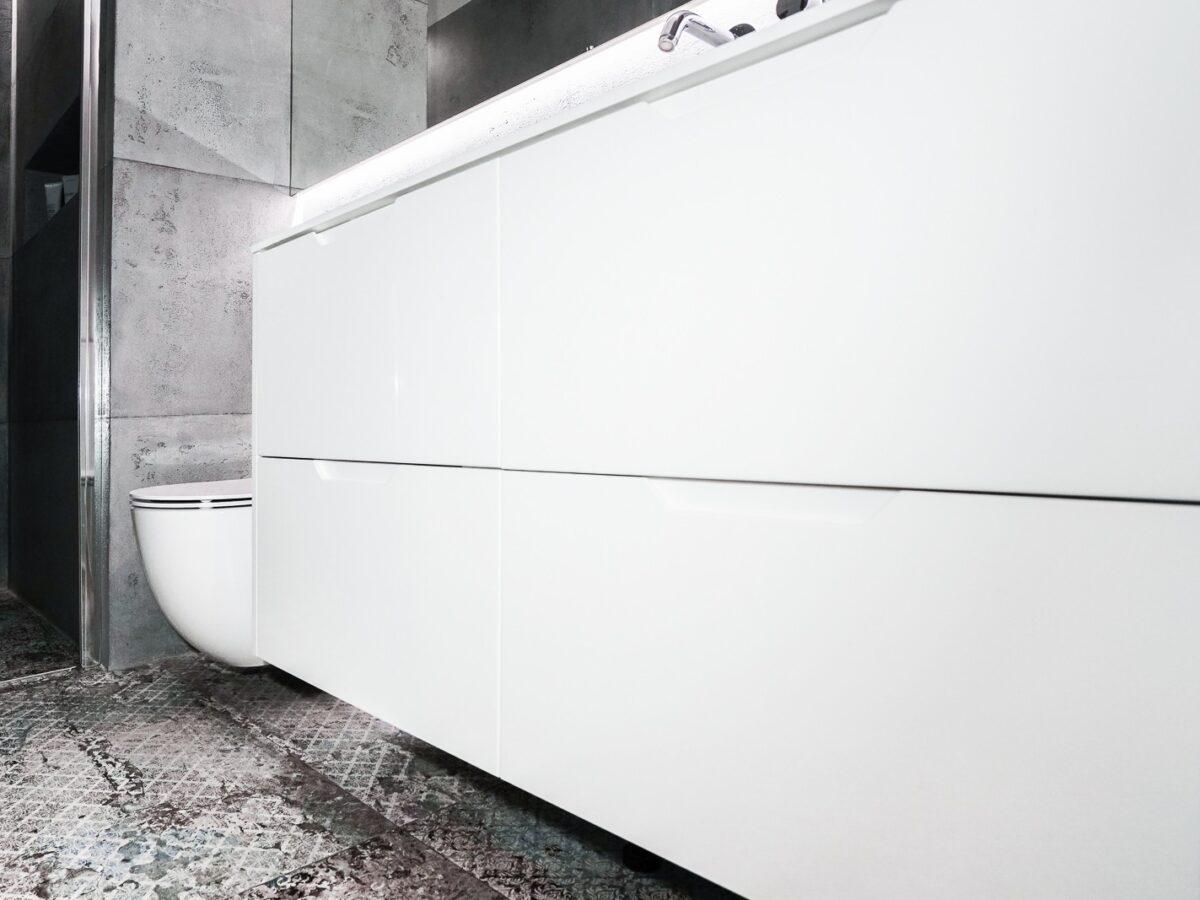 Fronty do szafek łazienkowych
