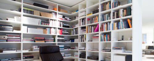 Regały biblioteczne