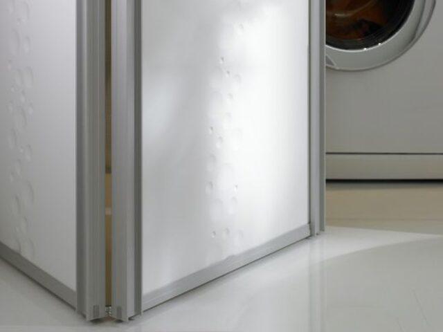 Składane drzwi przejściowe